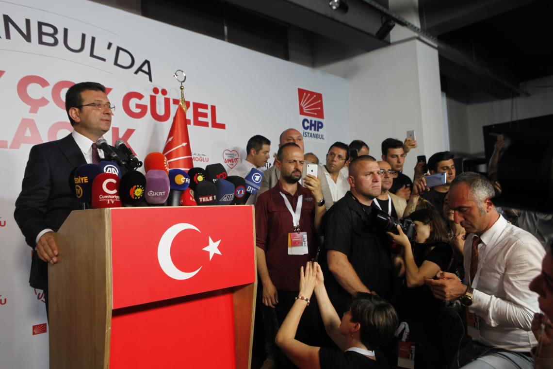 AK Party's candidate concedes defeat to Ekrem Imamoglu